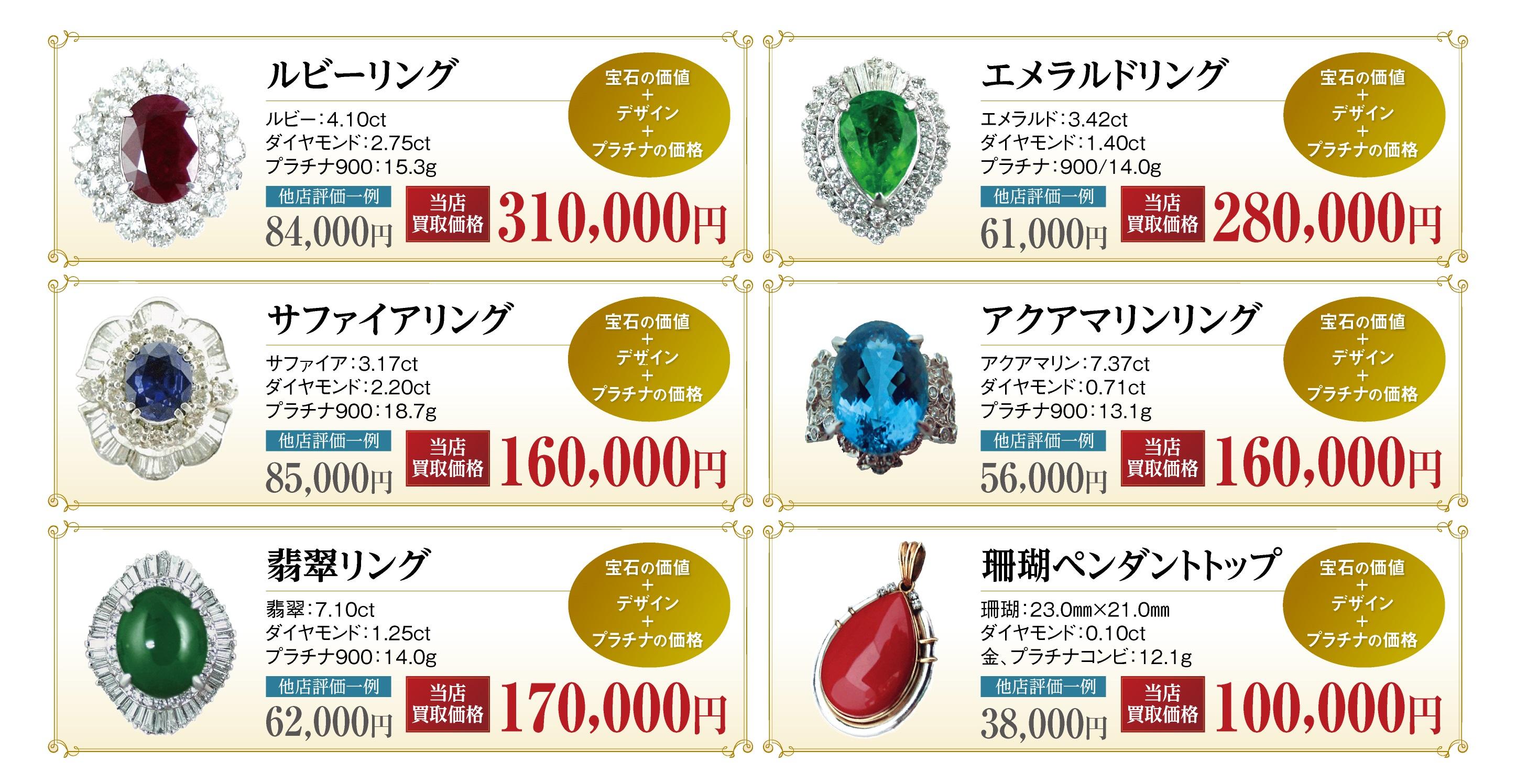 宝石買取価格