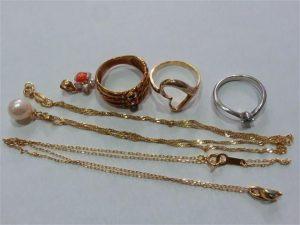 パール 真珠ネックレス 指輪