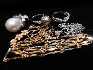 真珠 ダイヤ 指輪 ネックレス
