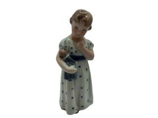 ロイヤルコペンハーゲン  フィギュリン  『人形を抱く少女』