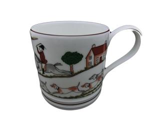 ウエッジウッド  ハンティングシーン  マグカップ