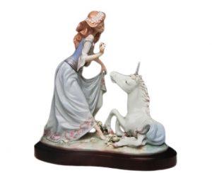 リヤドロ 王女とユニコーン