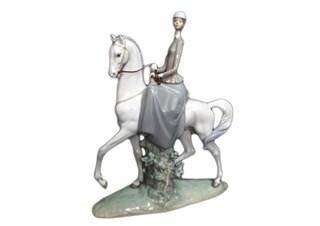 リヤドロ 白い馬の少女