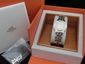 エルメス  クリッパー CL4.220  レディース時計