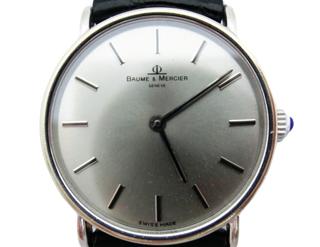 ボーム&メルシエ  K18手巻きメンズ時計