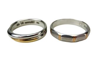 プラチナ 指輪 ペアリング