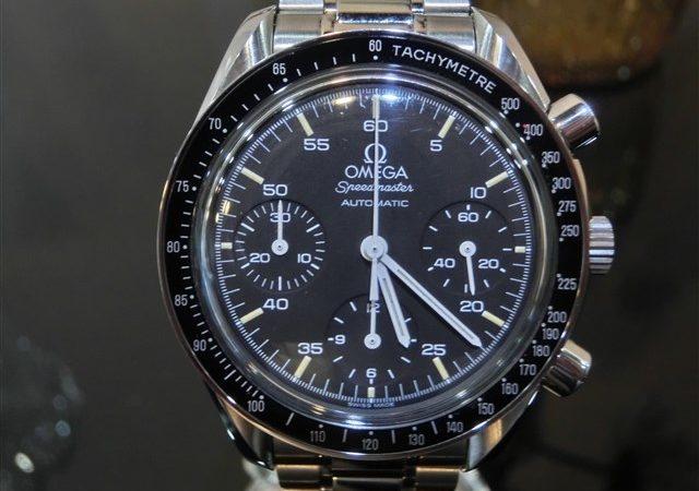 オメガ スピードマスター クロノグラフ メンズ腕時計をお買取りさせて頂きました!