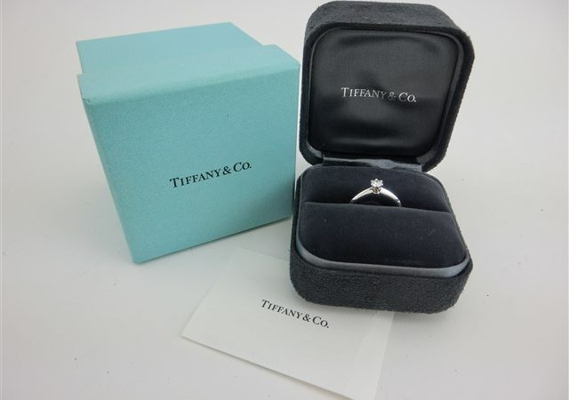 Tiffany&Co. ティファニー Pt950 プラチナ ダイヤモンド ソリティアリングをお買取りさせて頂きました!