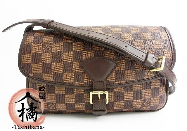 ブランド品からルイヴィトン  ダミエ  ソローニュショルダーバッグをお買取りさせて頂きました!