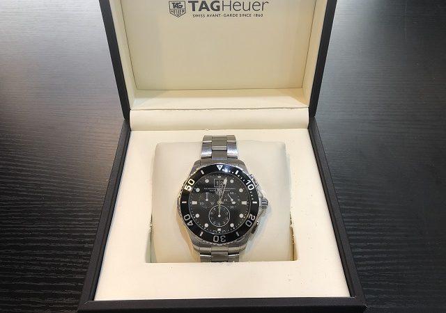 タグホイヤー アクアレーサー 腕時計CAN1010.BA0821をお買取りさせて頂きました!