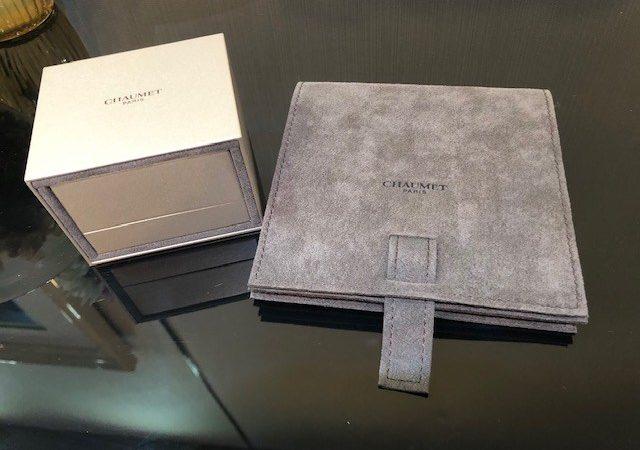 大阪府枚方市のお客様からブランドジュエリー・ショーメ ダイヤリングをお買取りさせて頂きました。