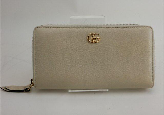 京都府京都市のお客様からGUCCICグッチプチマモート456117長財布をお買取りさせて頂きました。