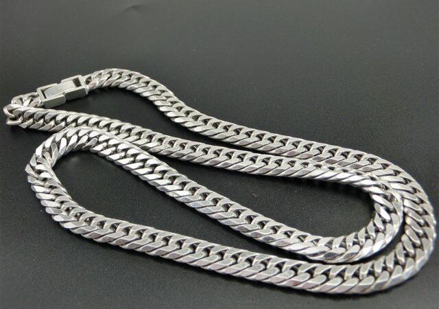 吉野郡吉野町のお客様からシルバーの喜平ネックレスをお買取り